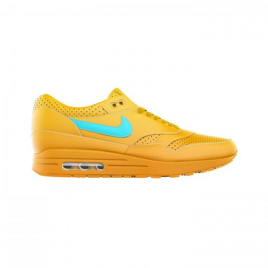 Yellow Performance Shoes